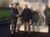 The National Stud Welcomes Cathal Berry.