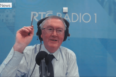 Cathal Berry Interviewed by Seán O'Rourke on RTE Radio