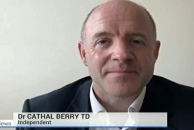 Dr. Cathal Berry TD Speaking on RTÉ Six-One News about the recent Cyber Attack