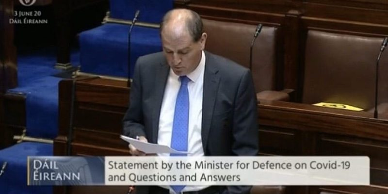 Wed, 03 June 2020 | Covid-19 (Defence): Statements