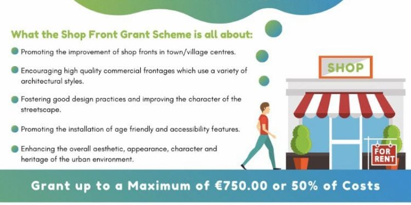 Shop Front Improvement Scheme for Kildare and Laois