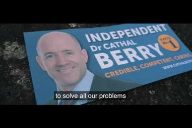 Dr. Cathal Berry Campaign Video