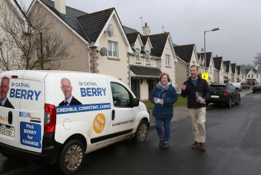 Canvassing in Portarlington – The Berry Way